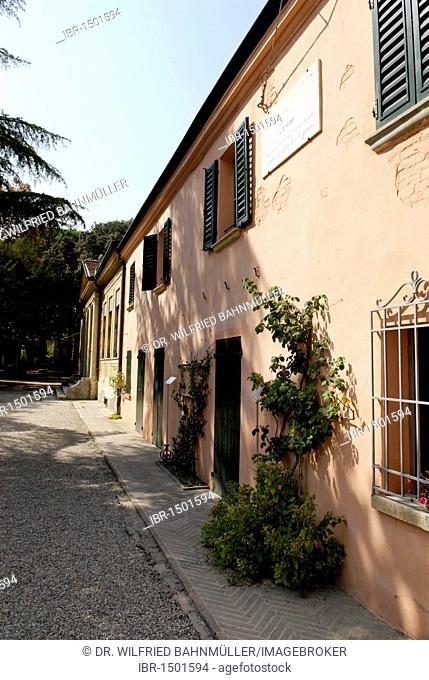 San Mauro Pascoli, house of the poet Giovanni Pascoli, Emilia Romagna, Itay, Europe