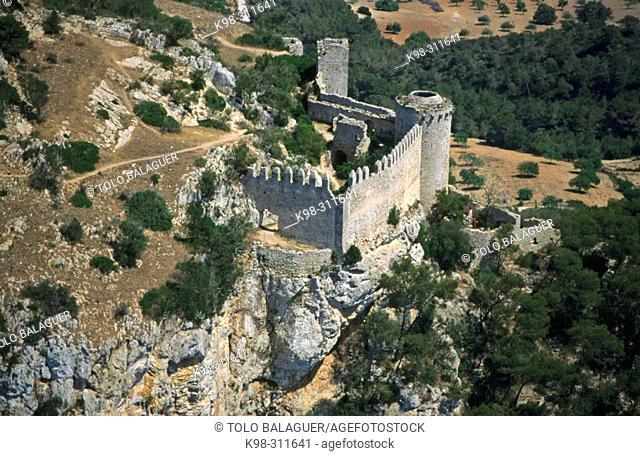 Santueri castle. Felanitx. Majorca, Balearic Islands. Spain