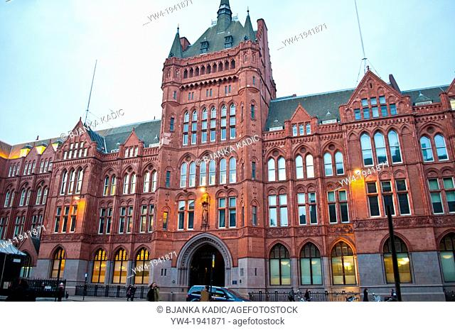 Prudential Assurance building, High Holborn, London, UK