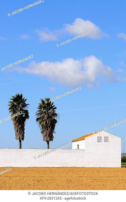 Typical architecture.Sagrajas.Vegas Bajas del Guadiana.Badajoz province.Extremadura .Spain