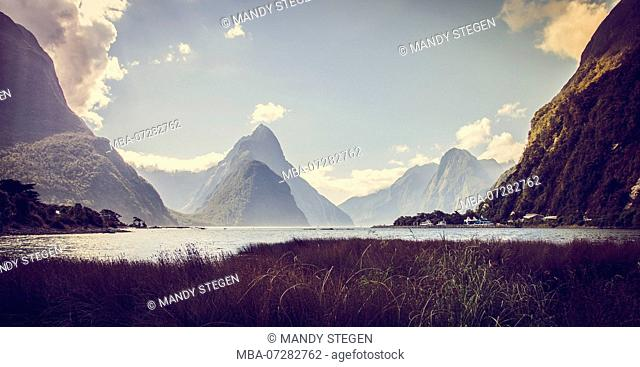 New Zealand, Commonwealth, Milford Sound, South Island