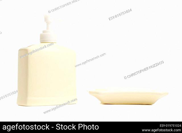 Soap Isolated on White