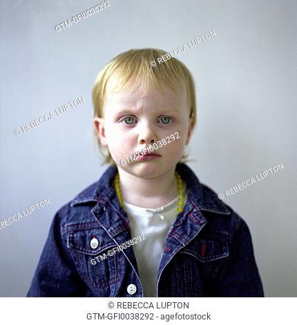 Portrait of Female Toddler