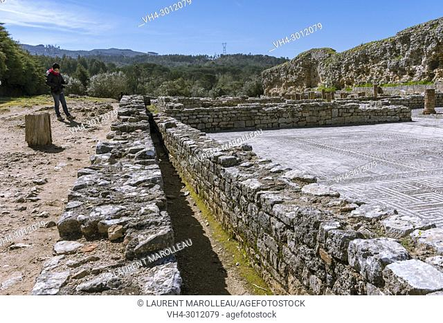 House of the Swastica, Ruins of the Roman city of Conimbriga, Coimbra District, Baixo Mondego, Centro Region, Portugal, Europe