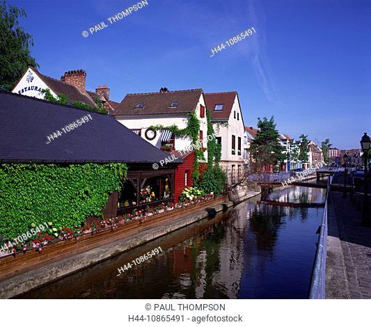 Saint Leu Quarter, Amiens, Somme, Picardy, France