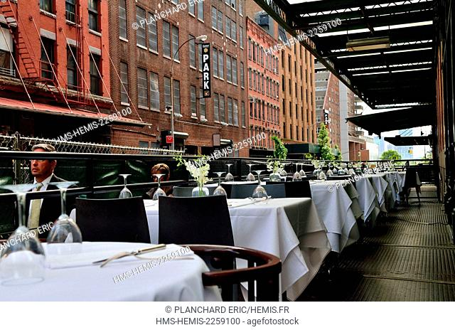 United States, New York, Manhattan, Meatpacking District, old manufacture