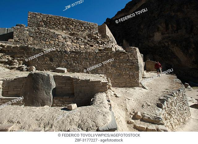 The fortress of Ollantaytambo marks the end of them in the Sacred Valley of the Inca trail then leads to Machu Picchu, but the inca trail tour to the...