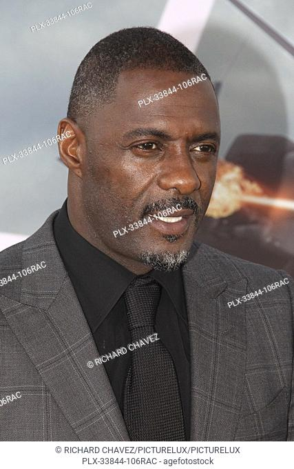"Idris Elba at the Universal Pictures World Premiere of """"Fast & Furious Presents: Hobbs & Shaw"""". Held at the Dolby Theater in Hollywood, CA, July 13, 2019"