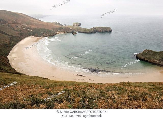 Beach of Torimbia, Niembro, Council of Llanes, Asturias, Spain