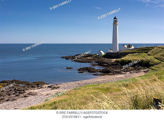Scurdiness Lighthouse. Ferryden Montrose Scotland