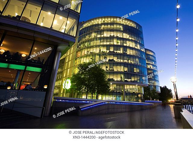 More London, Development Office Buildings, Southwark, London, England, UK