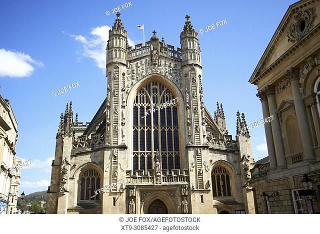 Bath abbey Bath England UK