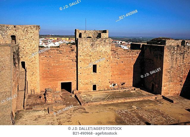Castle of Niebla. Huelva province. Spain