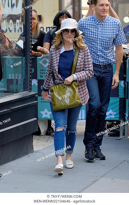 Jennifer Jason Leigh out in New York Featuring: Jennifer Jason Leigh Where: Manhattan, New York, United States When: 10 Aug 2017 Credit: TNYF/WENN.com
