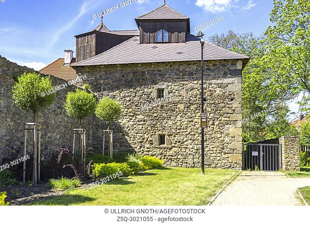 Klatovy, Czech Republic - building of old historic medieval town fortification
