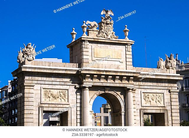 Triumphal Arch in Valencia, Spain