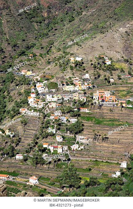 Lomo del Balo, Valle Gran Rey, La Gomera, Canary Islands, Spain