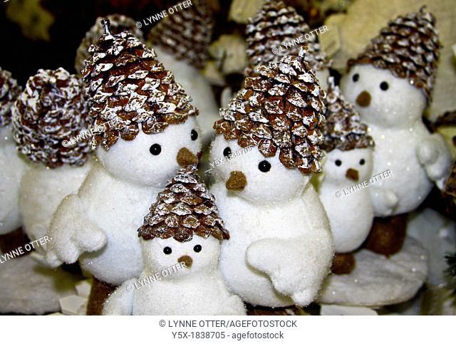 soft toys animals cute snowmen, christmas decorations