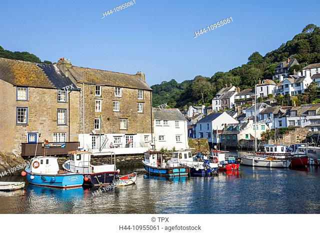 UK, United Kingdom, Europe, Great Britain, Britain, England, Cornwall, Polperro, Coast, Coastal, Harbour, Harbours, Seaside, Fishing, Fishing Village