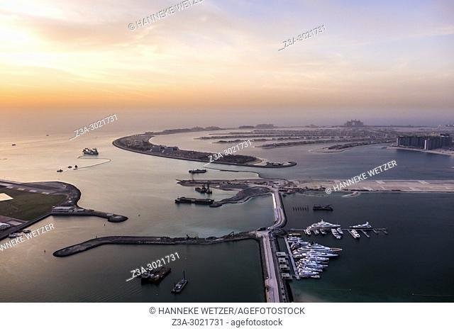 Atlantis The Palm, located on the Jumeirah coastal area of the emirate of Dubai, in the United Arab Emirates (UAE)