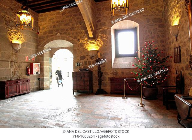 Plasencia state run hotel indoor, Caceres province, Extremadura, Spain