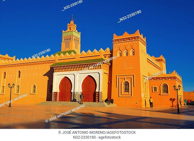 Zagora, Great Mosque, Draa Valley, Souss-Massa-Draa region, Morocco, Maghreb, North Africa