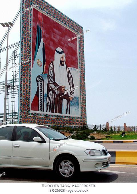 ARE, United Arab Emirates, Abu Dhabi: Sheikh Zayed bin Sultan Al-Nahayyan, Head of state of the UAE and ruler of Abu Dhabi