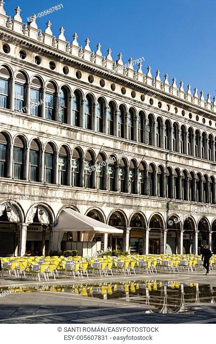 St. Mark's Square, Piazza San Marco, Veneto, Venice, Italy