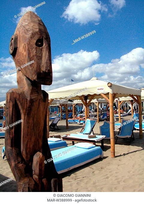 twiga beach club, forte dei marmi, versilia, tuscany, italy