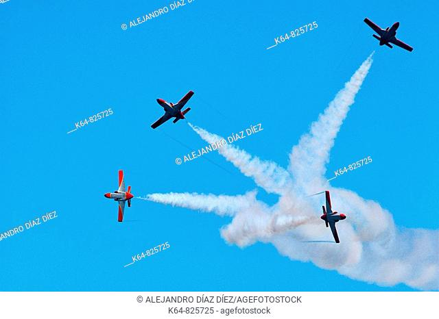Patrulla Aguila, Spanish Air Force aerobatic demonstration team