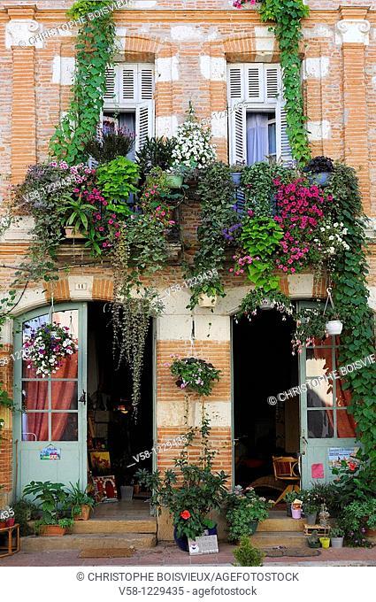 France, Tarn et Garonne, Auvillar