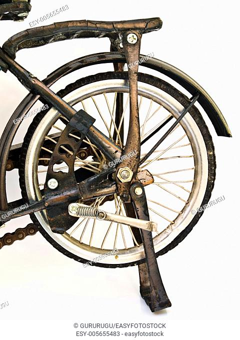 Iron bicycle model, handmade from Yogyakarta, Indonesia