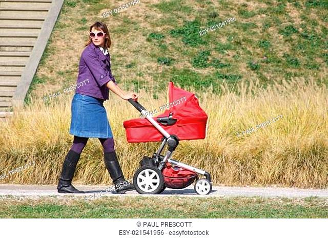 mother and pram