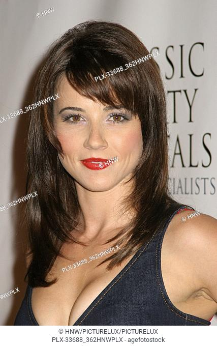 "Linda Cardellini 08/18/07 """"The 2007 Hot in Hollywood Secound Annual Event"""" @ Henry Fonda Music Box Theater, Hollywood Photo by Izumi Hasegawa/HNW / PictureLux..."