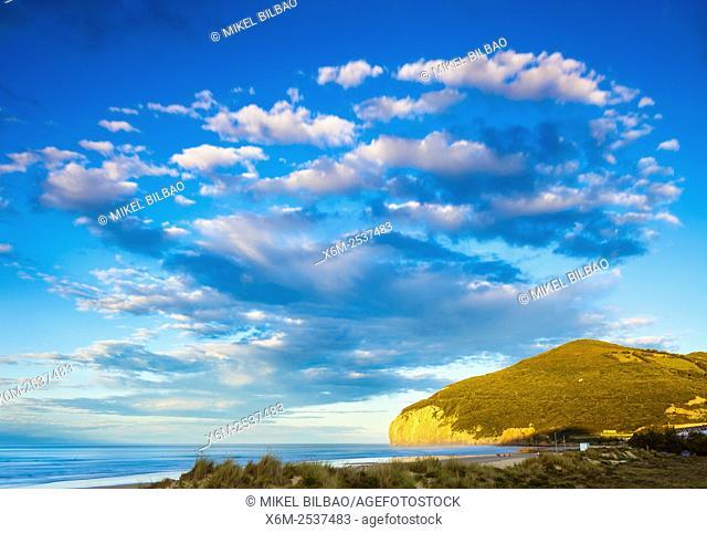 Berria beach. Marismas de Santoña, Victoria y Joyel Natural Park. Cantabria, Spain, Europe