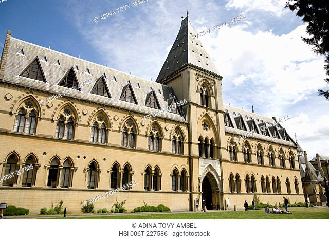Oxford University. Museum of Natural History. Oxford. England