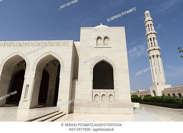 Sultan Qaboos mosque, Muscat, Oman