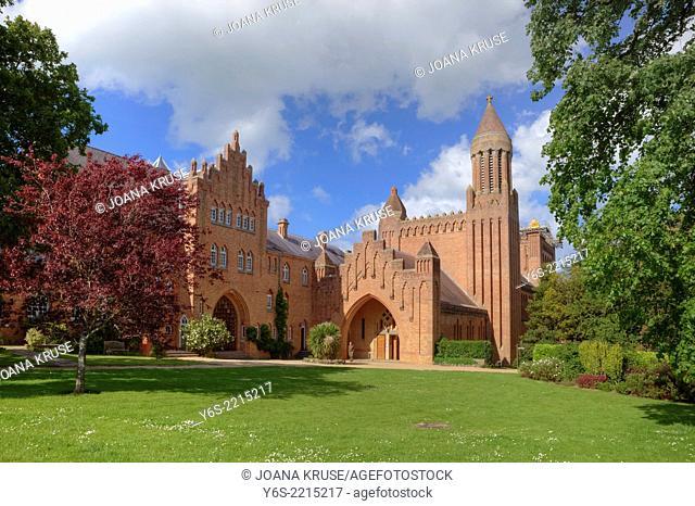 Quarr Abbey, Isle of Wight, England, United Kingdom