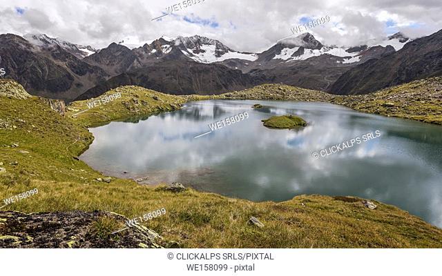 Mutterbergersee, Wilde Wasser Weg, Stubaital, Neustift am Stubaital, Innsbruck Land, Tirol, Tyrol, Austria, Europe