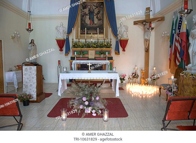 Interior Roman Catholic Chapel Melbourne Australia