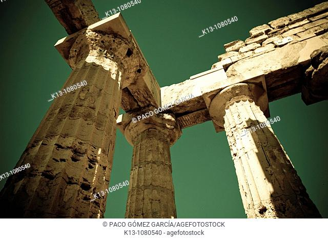Greek Temple of Selinunte Sicily Italy