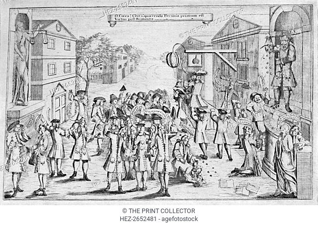 'An Election Won By Bribery', 1727, (1904). From Social England, Volume V, edited by H.D. Traill, D.C.L. and J. S. Mann, M.A