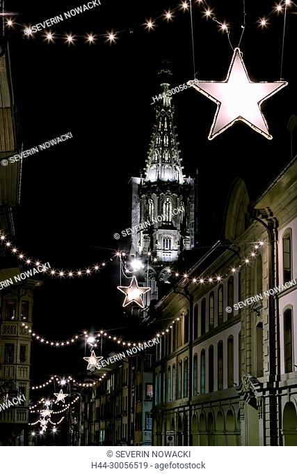 Berner Muenster Advent in Bern