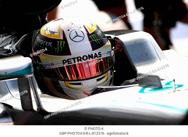 02.09.2016 - Lewis Hamilton (GBR) Mercedes AMG F1 W07 Hybrid