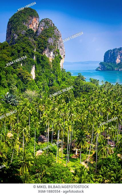 Viewpoint  Railay peninsula  Krabi province, Thailand