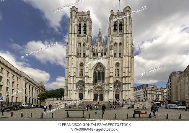 Cathedral of San Miguel and Santa Gudula in the Belgian capital