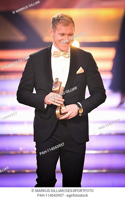 Arthur Abele (Third Athlete of the Year, Decathlon). GES / Sports General / Sportsman of the Year 2018, 16.12.2017 Sport: German Award Sportspersonality of the...