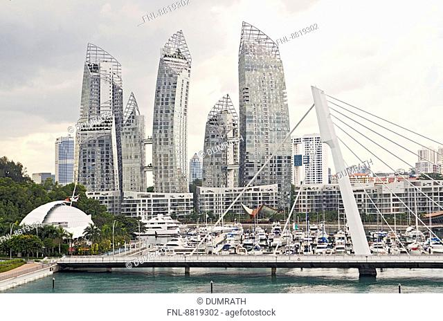 Reflections, Keppel Bay, Singapur City, Singapur, Asia