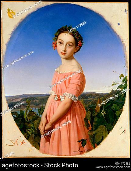 Faustine Léo (1832-1865). Artist: Henri Lehmann (French, Kiel 1814-1882 Paris); Date: 1842; Medium: Oil on canvas; Dimensions: 39 3/8 x 32 in