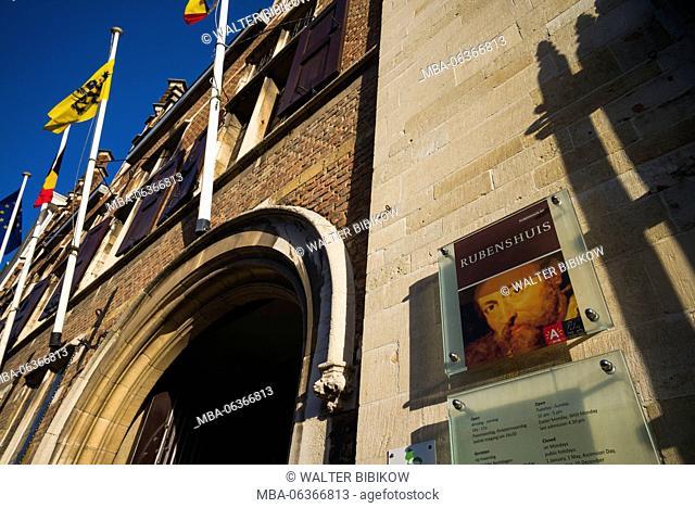 Belgium, Antwerp, Rubenshuis, former home of painter Peter Paul Rubens, 1611